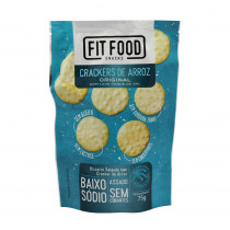Cracker De Arroz Original - FIT FOOD 75G