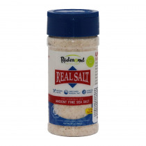 Real Salt Integral Cristais Finos - Redmond 284g